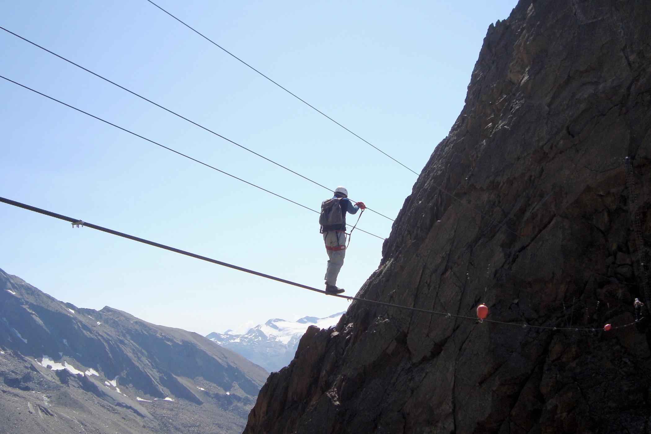 Klettersteig Jegihorn : Jegihorn