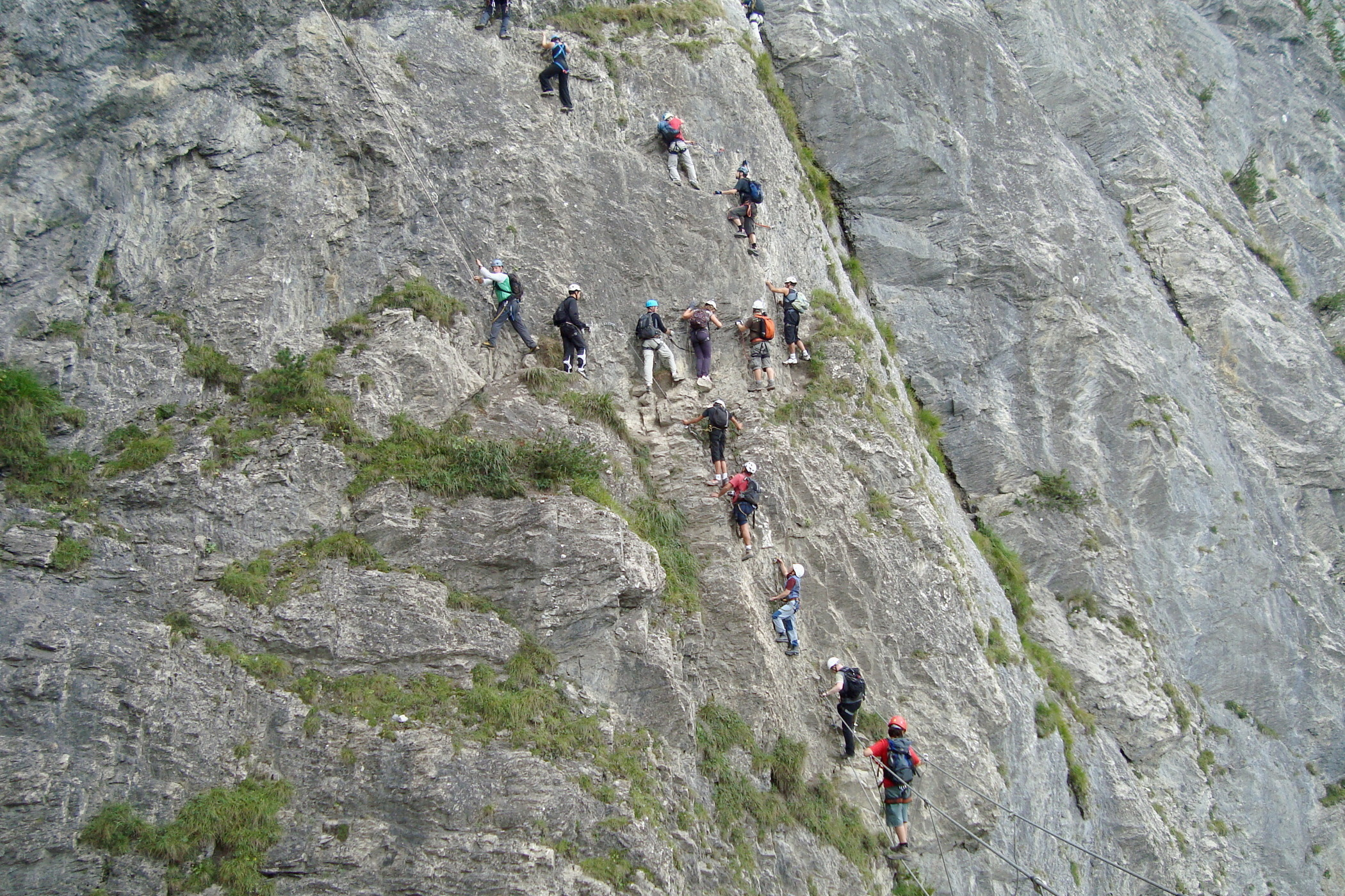 Klettersteig Allmenalp : Allmenalp