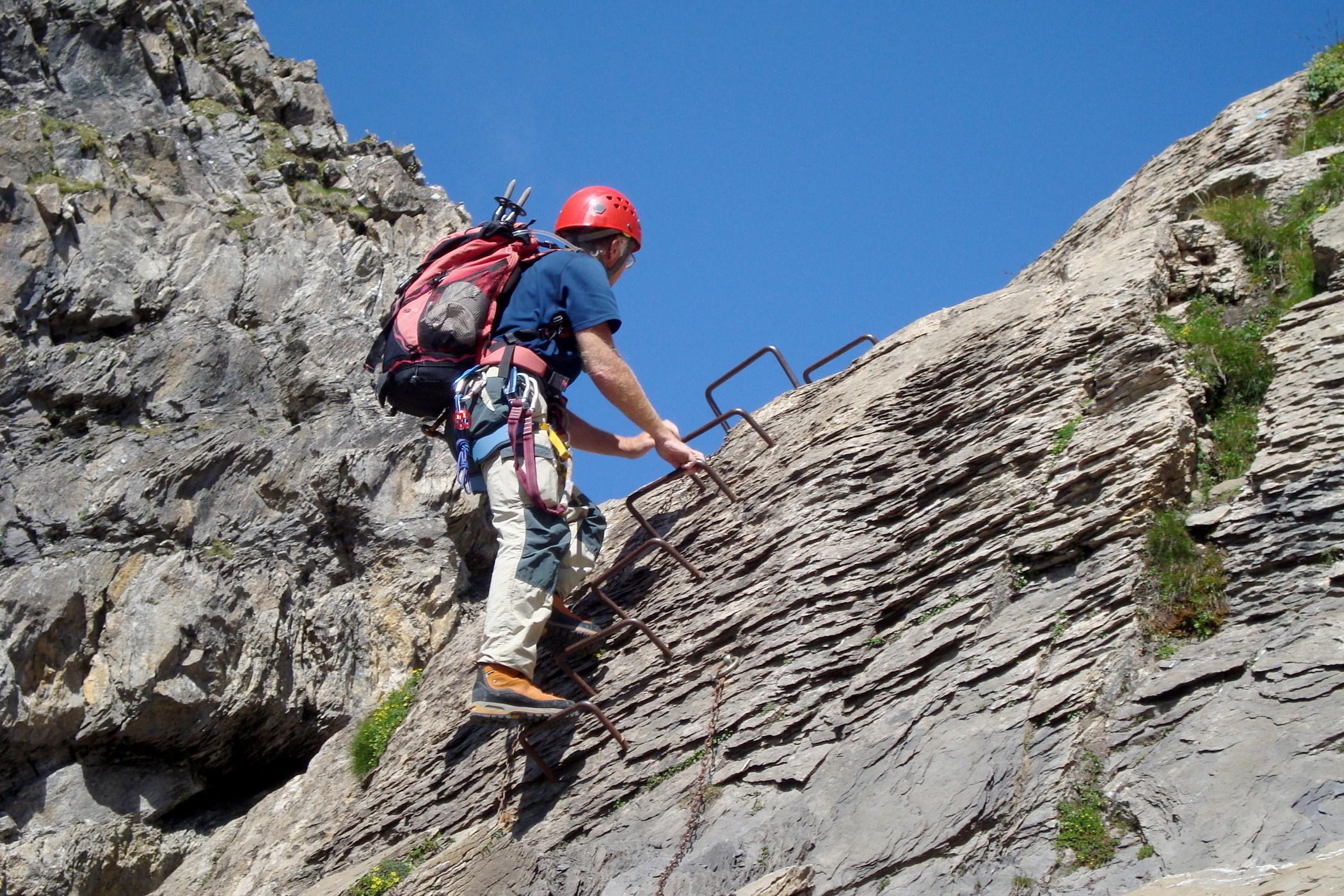 Klettersteig Schwarzhorn : Schwarzhorn