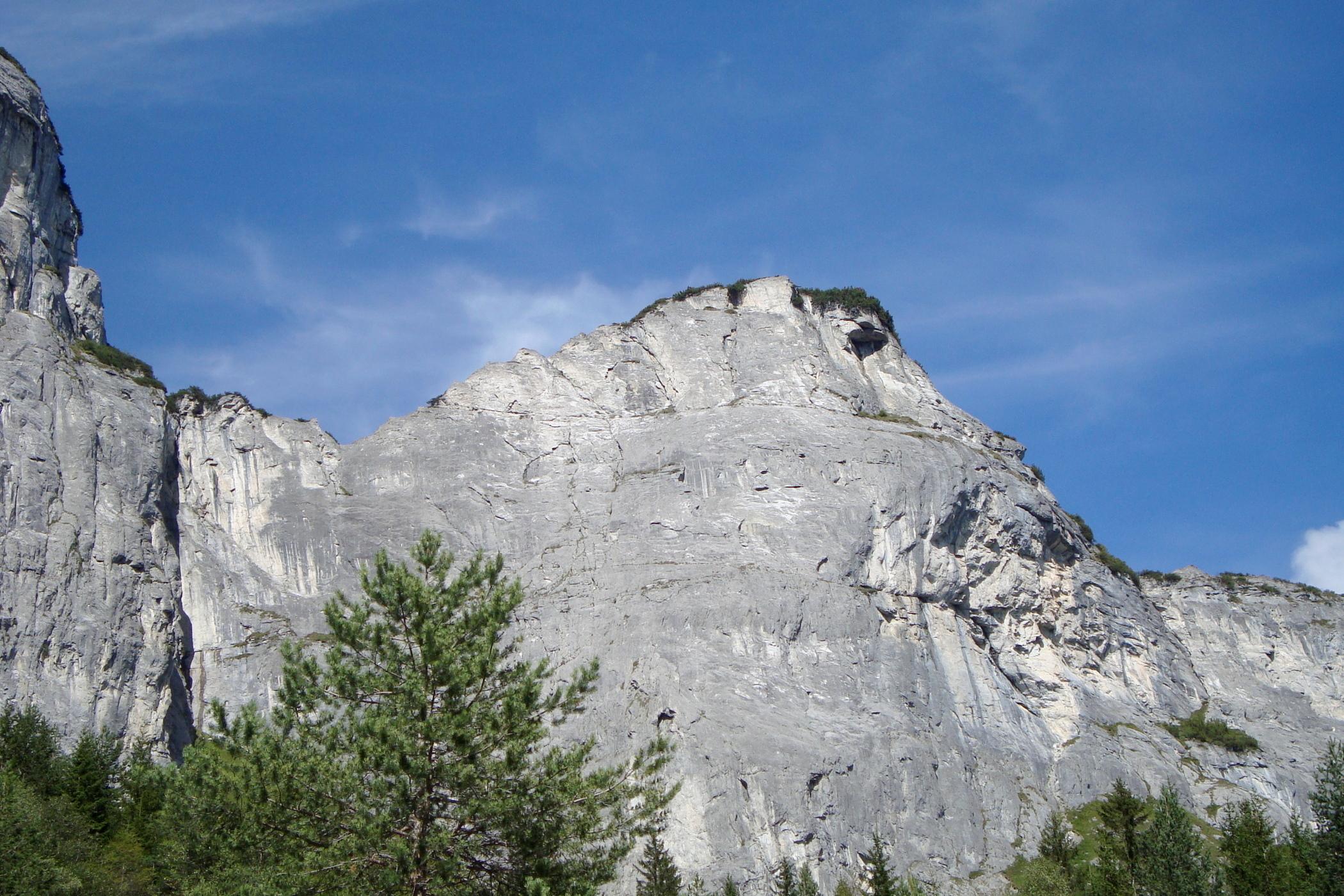 Klettersteig Flimserstein : Klettersteig pinut