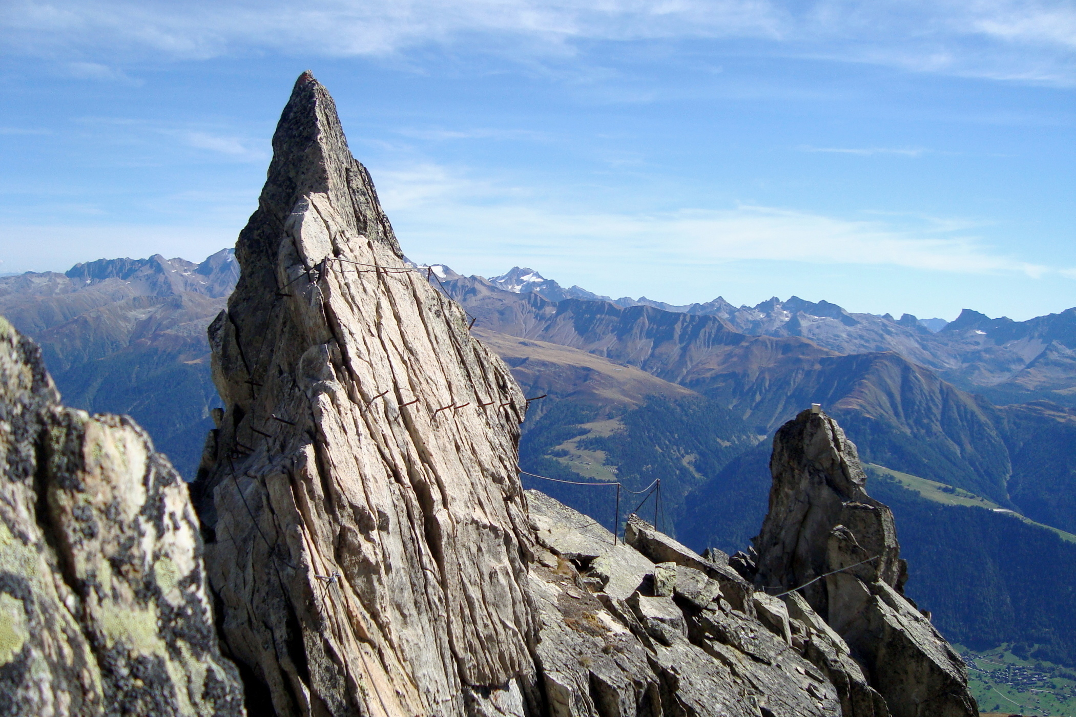 Klettersteig Eggishorn : Klettersteig eggishorn