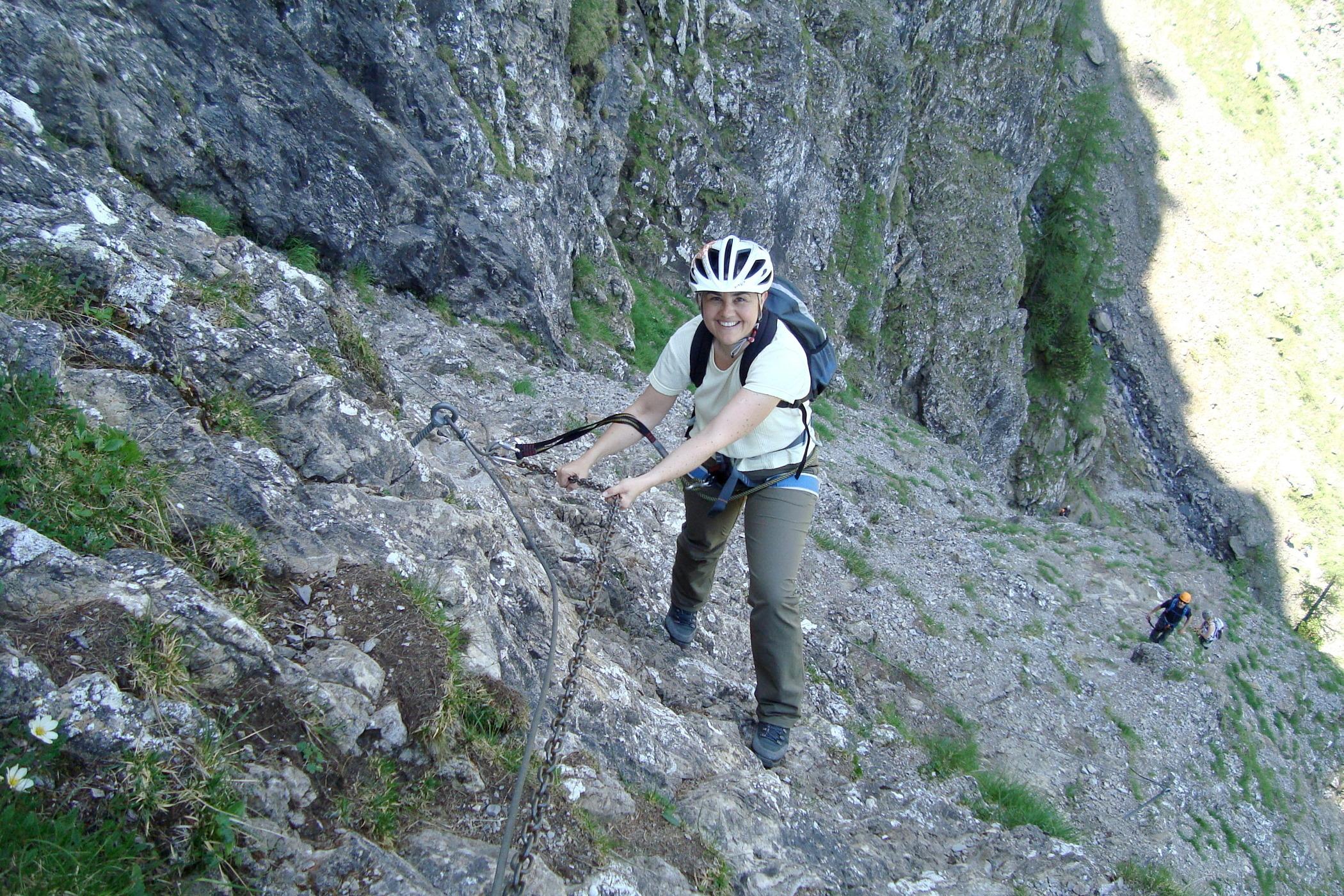 Klettersteig Adelboden : Klettersteig chäligang engstligenalp