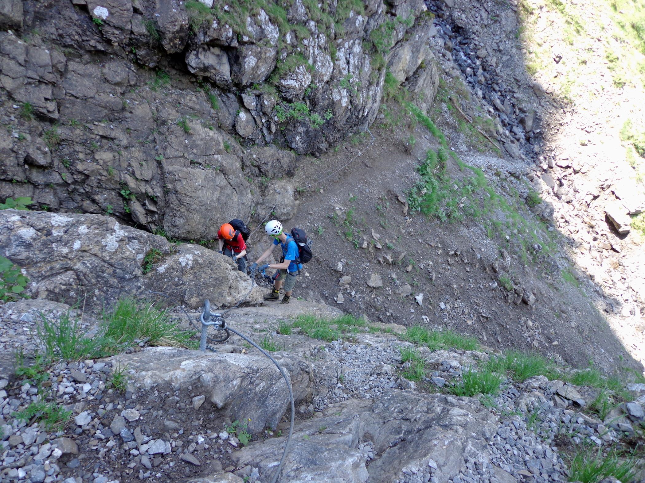 Klettersteig Engstligenalp : Chäligang